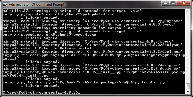 how to open python console in windows